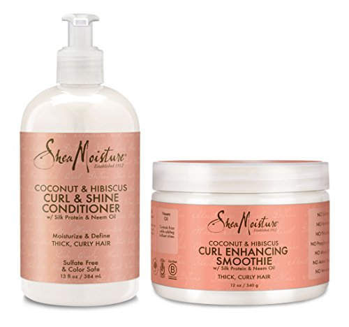 SheaMoisture Coconut and Hibiscus Combination Pack; Curl & S