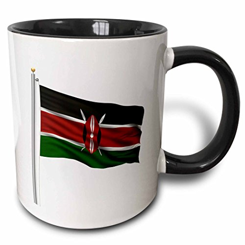 3dRose mug 157191 4 Kenya White Kenyan