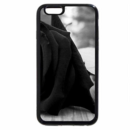 iPhone 6S / iPhone 6 Case (Black) Mourning Rose
