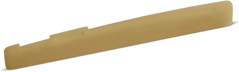 Unbleached Bone Saddle 75.2 mm Length Fits Many Newer Yamaha Guitars