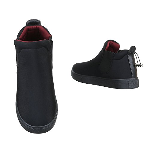 Ital Ital design Sneaker Donna Nero Donna design Sneaker Nero nvUgFwqaxw