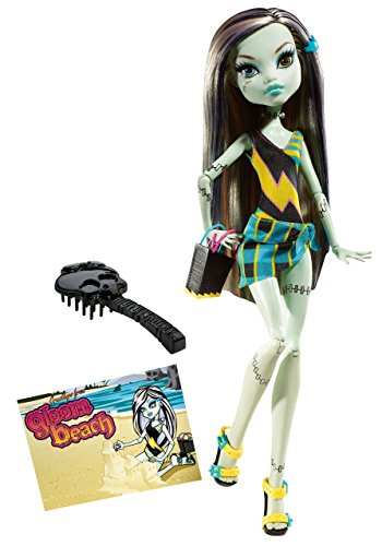 Monster High Gloom Beach Frankie Stein Doll Dracula Stein