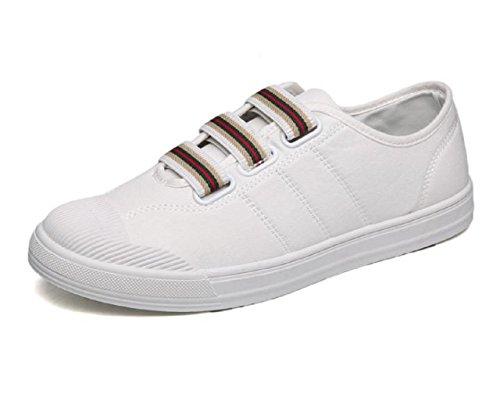 Kuro&Ardor Boat Shoes for Men Sneakers Deck Shoes Canvas Fat