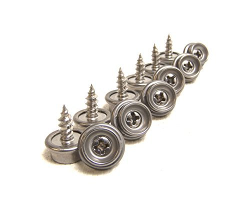 Screw Stud 3/8'' 100% Stainless Steel Construction 25 Piece Set - Shipped from The USA!