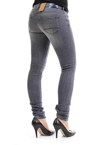 Maison Scotch Jeans Women - LOW RISE SKINNY 1326-07.85720 - Grey, Hosengröße:31/32