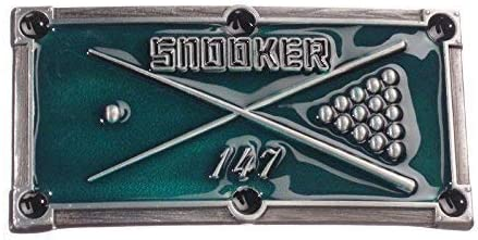 Hebilla de Billar Snooker{147} - hebilla para cinturón: Amazon.es ...