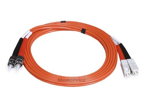 SC/PC-ST/PC, MM, Duplex, 62.5/125, 3.0MM DIA. 2 Meter-(Patch Cord/Jumper)