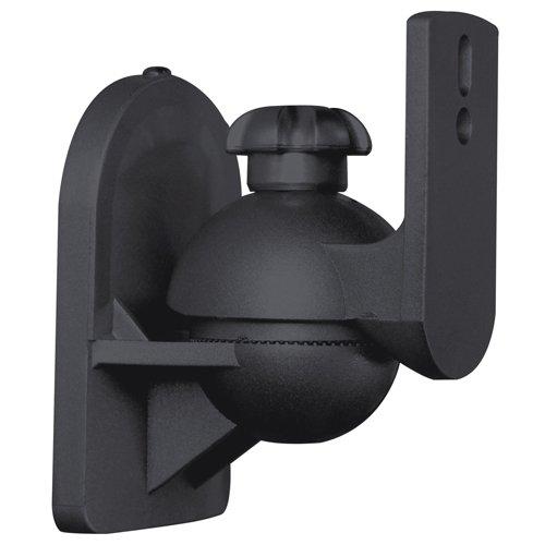 Pan/Tilt Adjustable Stereo Surround Speaker Wall Mount Brack