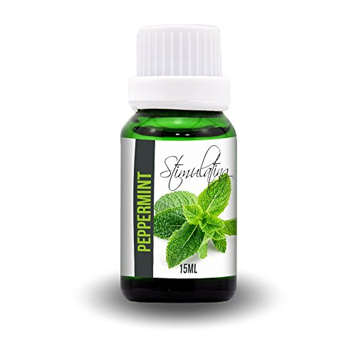 Aroma2Go Peppermint 15ml All-Natural Essential Oil | Steam Distilled | Therapeutic Grade