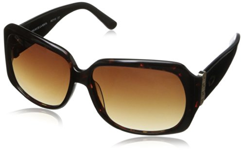 O by Oscar de la Renta Eyewear Women's SSC5102 Square Sunglasses,Tortoise,174 - Sunglasses Oscar