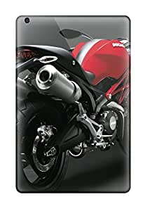Premium Protection Ducati Monster 696 Red Rear Case Cover For Ipad Mini/mini 2- Retail Packaging