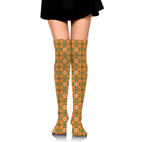 HFJDLSK French Garden Parterre Fabric Women & Men Knee High Compression Socks