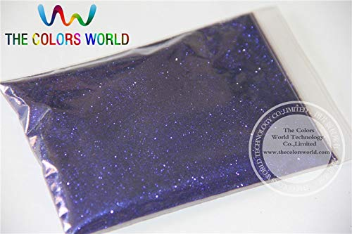 Kamas B0715 Classic blue Color Glitter powder -0.2MM glitter dust dazzling glitter powder,DIY Flash powder - (Color: 200g)