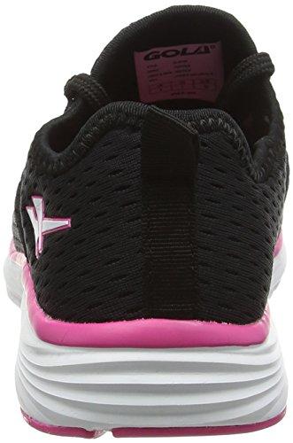 Donna Nero Gola Sportive black Sondrio Indoor Scarpe pink qUxxSw1