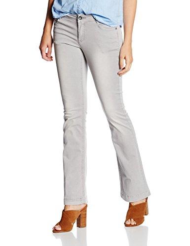 s.Oliver 5-Pocket, Pantalones para Mujer Gris (soft grey 9139)