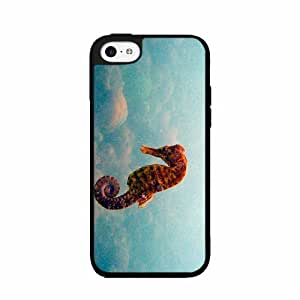 Galaxy Seahorse- TPU RUBBER SILICONE Phone Case Back Cover iPhone 5c