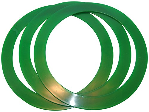 Juggling Rings Set of 3 Professional Style (Forest (Juggling Rings Set)