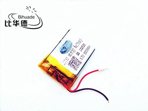 3.7V 102535 800mah Lithium Polymer Li-Po Rechargeable Battery for DIY Mp3 MP4 MP5 GPS PSP Bluetooth