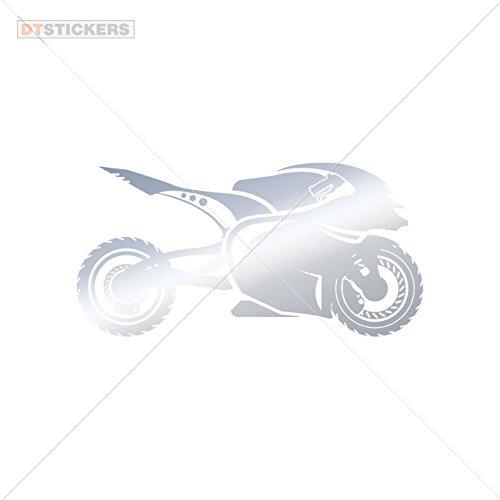 Vinyl Sticker Decals Superbike Logo Doors M Sports Bike (8 X 4,01 In. ) Metallic Chrome - Sunglasses Superbike