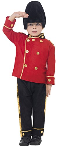 Boys Busby Buzby Guard Royal British London Soldier Military Uniform Age 7-9 (Child Busby Guard Costumes)
