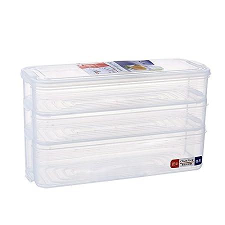 Wuyue Hua - Recipiente de almacenamiento de alimentos, apilable ...