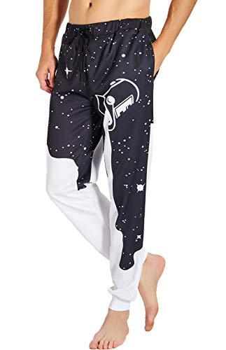 RAISEVERN Men/Women Sweatpants Funny Joggers Pants Sports Trousers with Drawstring