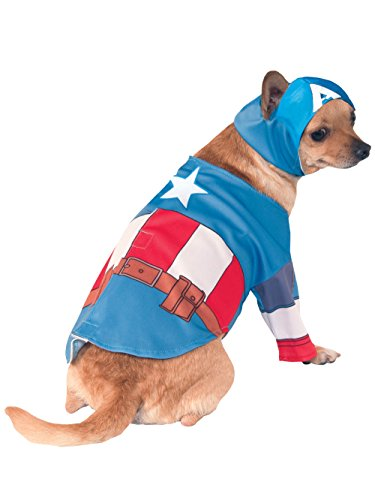 Rubie's Marvel Universe Captain America Pet Costume, Medium]()