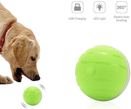 Juguete Interactivo para Mascotas, Carga USB Bola Giratoria ...