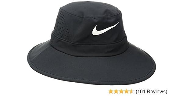f3e1a01c7b9fb Amazon.com  Nike Golf UV Sun Bucket Golf Hat 832687  Clothing
