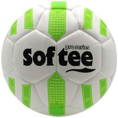 Balon Futbol HIBRIDO Softee MAX - Futbol 11 - Color Blanco Y Verde ...