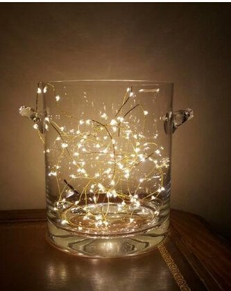 String Lights Qatar : LSHCX Battery-Powered Copper Wire Starry String Lights,Elegant Rope Lights for Decoration ...