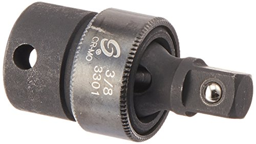 Sunex 3301 3/8-Inch Drive Impact Universal Joint, Standard, 6-Point, Cr-Mo