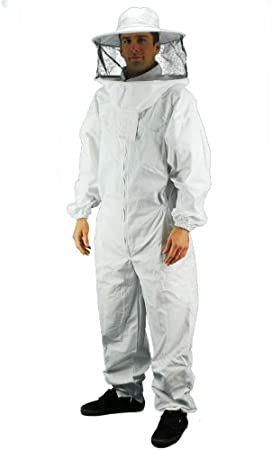 Professional Bee Beekeeping Suit XL Protecting Suit Dress Jacket Veil Equipment