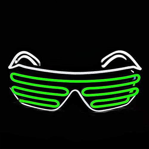Easony Fun Flashing LED Glasses for Kids - Best Gifts