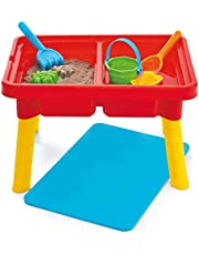 Kidoozie Sand 'n Splash Activity Table, Outdoor Playset Toy for Toddlers Ages 2+