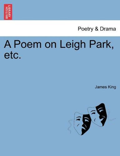 A Poem on Leigh Park, etc. pdf epub