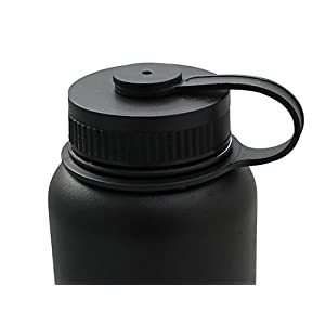 Water Bottle Lid Replacement - Screw Top Cap For Wide Mouth Bottles and Flasks- Keeps Drinks HOT or COLD - Fits Most Insulated Bottles - URBN Bottle