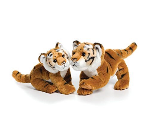Plush Jungle Cat - Nat and Jules Playful Large Tiger Friend Children's Plush Stuffed Animal Toy