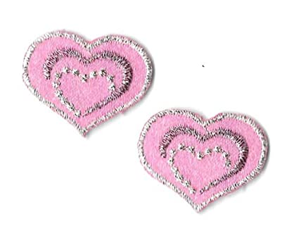Crochet butterfly applique heart shaped valentine s day free