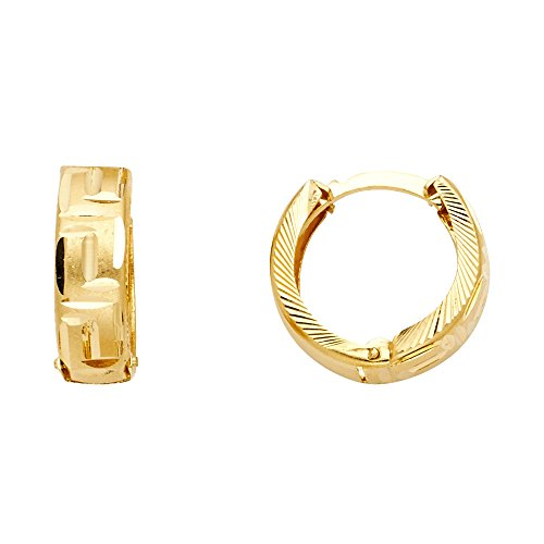 14k Yellow Gold 5mm Thickness