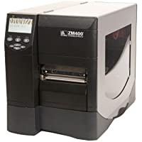 Zebra Technologies ZM400-2001-0200T Model ZM400 Direct Thermal/Thermal Transfer Label Printer; 203 dpi print resolution (8 dots/mm); RS-232 Serial, Parallel, USB, and Wi-Fi Interfaces; 4.0 Maximum Print Width