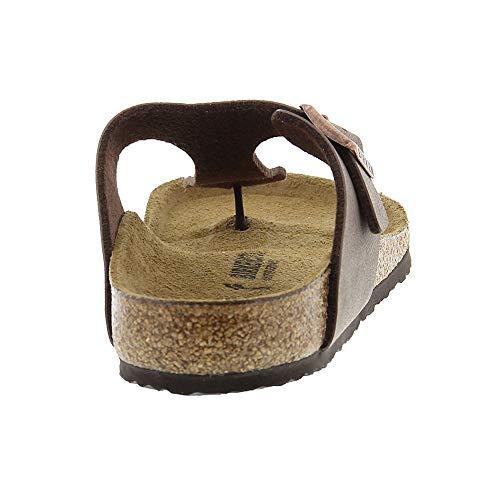 Birkenstock Gizeh Kid's Mocha Birkibuc Sandal 32 N EU (US 1-1.5 Little Kid) by Birkenstock (Image #5)