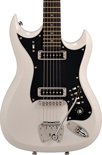 Hagstrom 6 String Solid-Body Electric Guitar, White, used for sale  Delivered anywhere in Canada