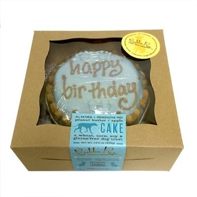 Bubba Rose Happy Birthday Dog Cake (Blue)