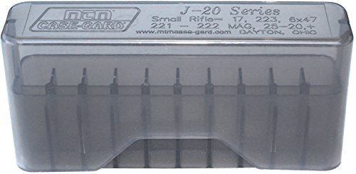 MTM 20 Round Slip-Top Rifle Ammo Box (Best Round For 300 Win Mag)