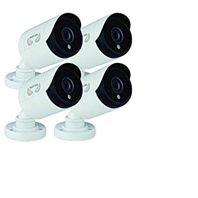 Night Owl Security, 2 Pack of 720p HD Wired Security Add-on Bullet Cameras (Black) from Night Owl