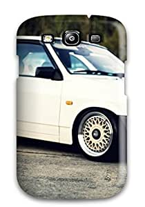New Galaxy S3 Case Cover Casing(white Brek Car)