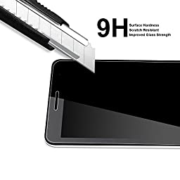 Apple iPad Air / Air 2 Tempered Glass Screen Protector, Supershieldz Anti-Scratch, Anti-Fingerprint, Bubble Free, Lifetime Replacement Warranty