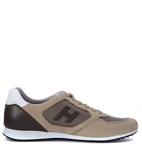 Sneaker Hogan Olympia X H205 en nabuk beis Beige