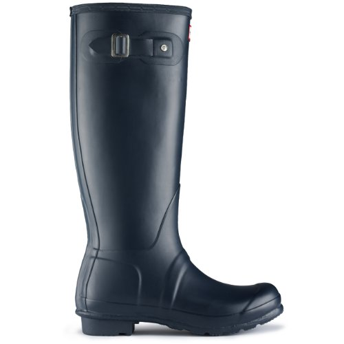 Womens Hunter Original Tall Wellington wasserdichte Winter Schnee Regen Stiefel Blau